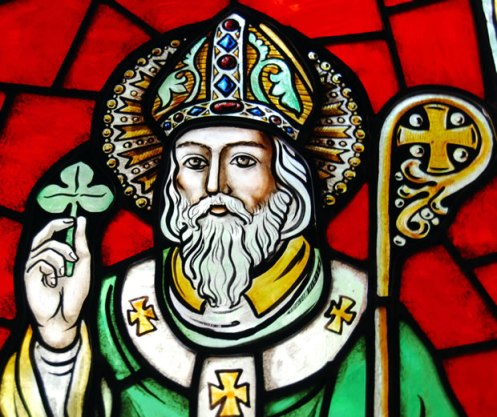 st_patrick_with_shamrock