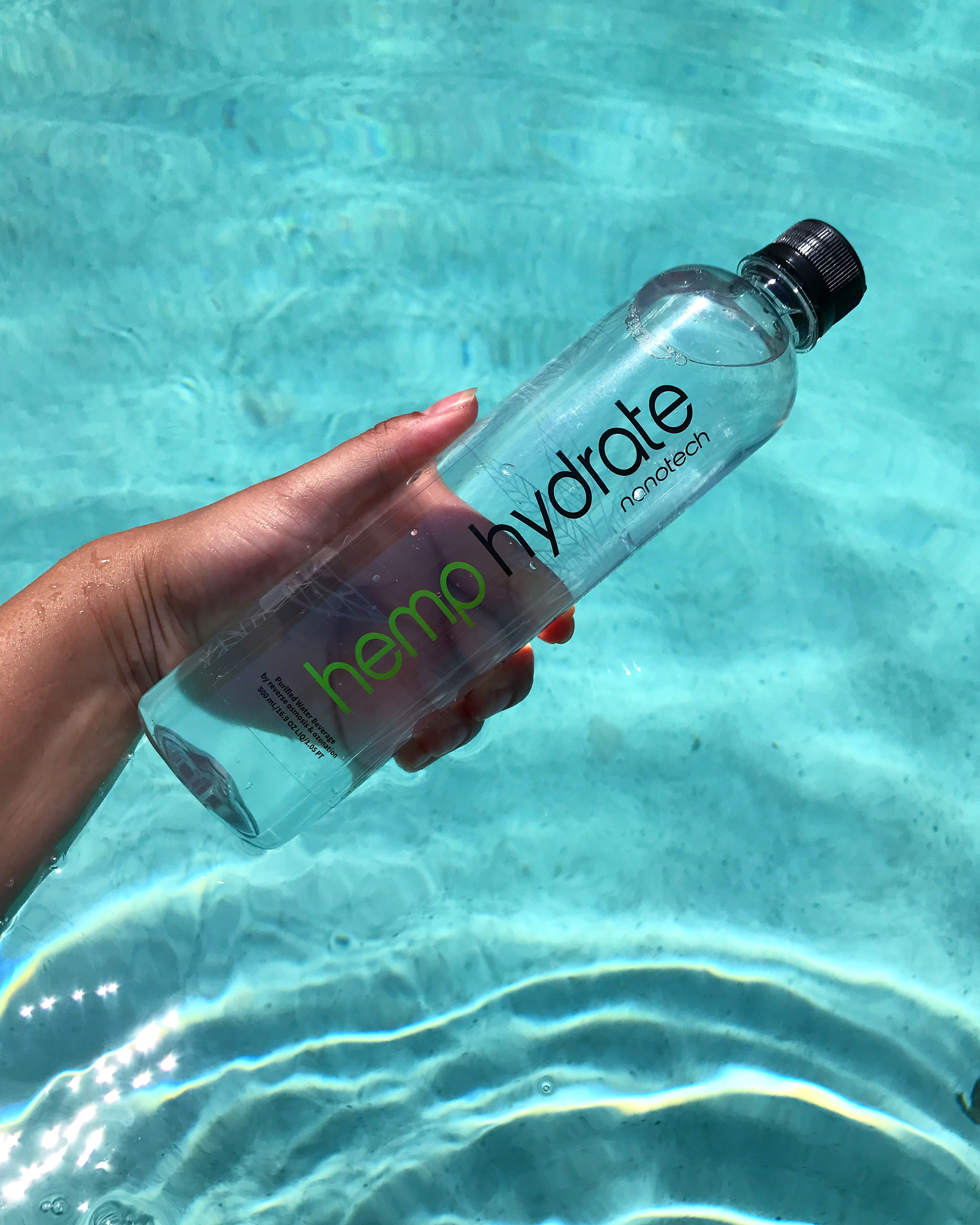 REVIEW] Stay Happy with Hemp Hydrate Water! – Street+Spice